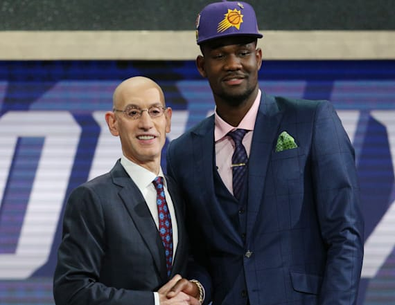 Phoenix Suns select Deandre Ayton with No. 1 pick