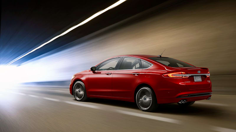 Ford Fusion Sport >> Ford Removes 325 Hp Fusion Sport From 2020 Line Up Autoblog