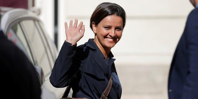 Najat Vallaud-Belkacem fait un premier pas vers une candidature au PS.
