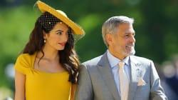 George Clooney e Amal restano fuori al party alla Frogmore House. La polizia non li