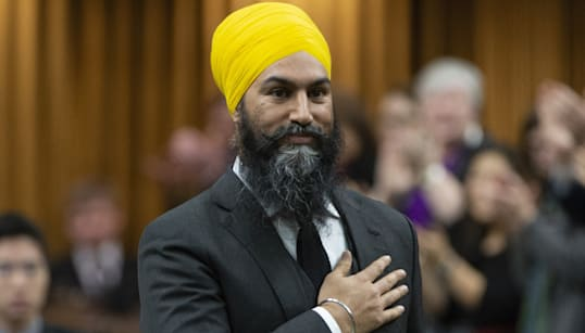 Jagmeet Singh Makes History With Parliamentary