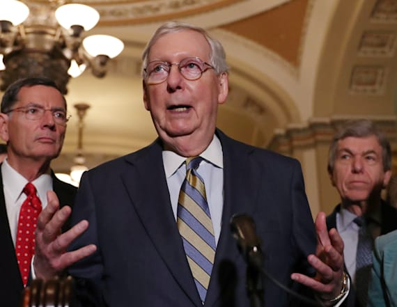 Senate leader expects impeachment process to drag on