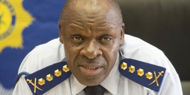 General Khehla John Sitole.