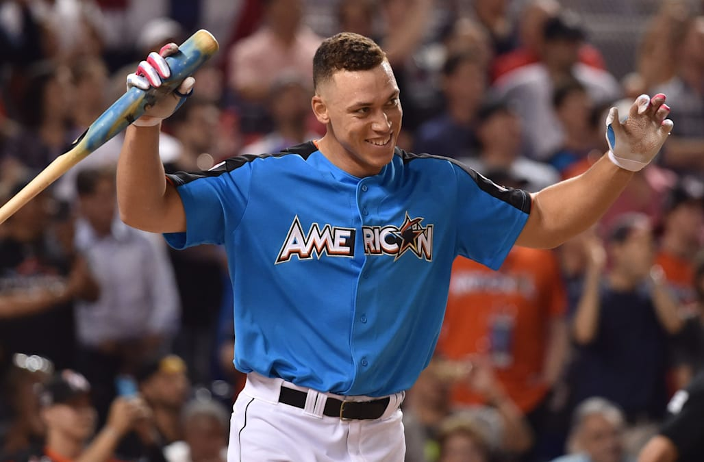 newest cf059 7dad4 Aaron Judge says he's 'one and done' at Home Run Derby - AOL ...