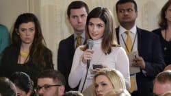 Tollé aux États-Unis après qu'une journaliste de CNN a été interdite de Maison