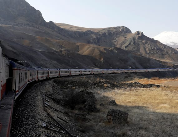 Inside Turkey's 'Eastern Express' train ride