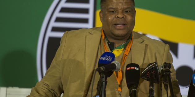 Newly appointed Energy Minister David Mahlobo.