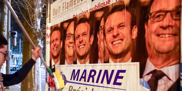 La présidentielle 2017, une élection chamboule-tout. REUTERS/Robert Pratta