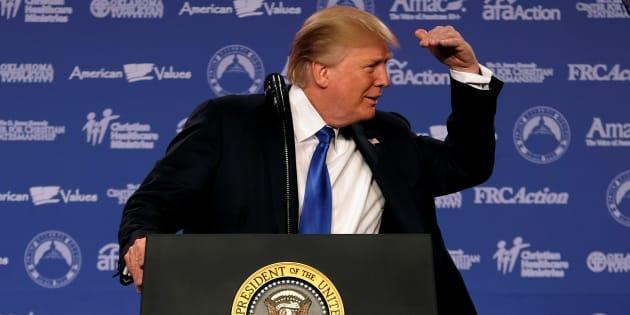 Donald Trump a perdu 600 millions d'euros en un an selon Forbes