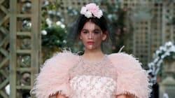 Kaia Gerber est la magnifique mariée du défilé Chanel haute