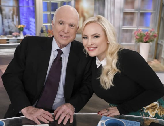 Meghan McCain posts photo from father's grave