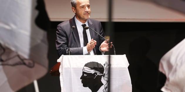 """Après la polémique Ajaccio-Le Havre, Jean-Guy Talamoni veut faire reconnaître un """"racisme anti-corse"""""""