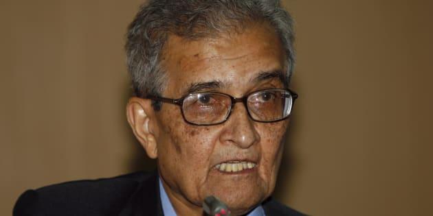 India's Nobel economics laureate Amartya Sen
