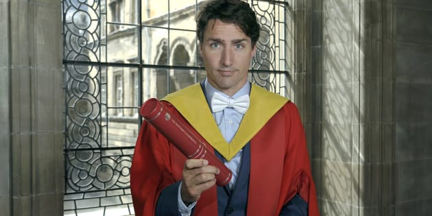 Prime Minister Justin Trudeau, is awarded an honorary degree at the University of Edinburgh on July 5, 2017 in Endinburgh, Scotland.