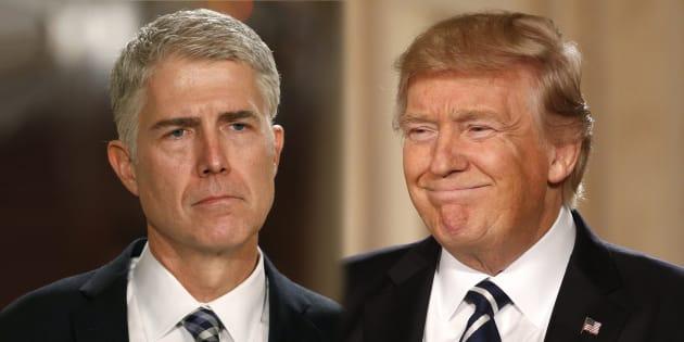 Le juge que Donald Trump vient à peine de nommer à la Cour suprême le critique déjà