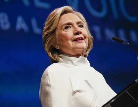 Clinton slams Trump over debunked election 'study''