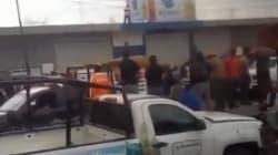 Linchan a ladrón de celular en Huixcolotla,