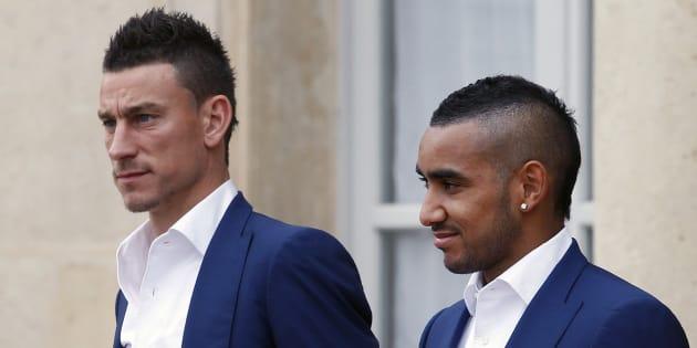 France-Croatie: Emmanuel Macron invite Dimitri Payet et Laurent Koscielny pour la finale