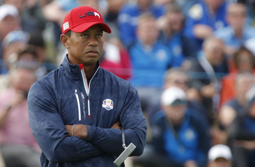0fd7c93931726 Tiger Woods gave a brutal assessment of his own performance after the USA s  massive Ryder Cup loss to a merciless Europe