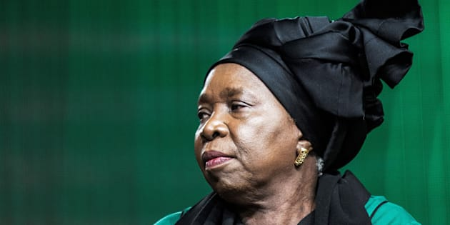 South African presidential hopeful Nkosazana Dlamini-Zuma.