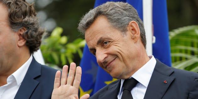 Nicolas Sarkozy à La Baule au mois de septembre. 2016.