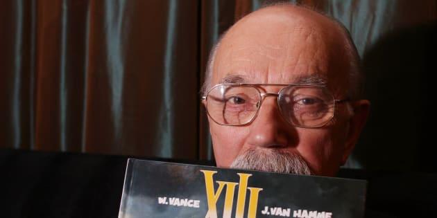 Le dessinateur William Vance à Bruxelles en 2007.