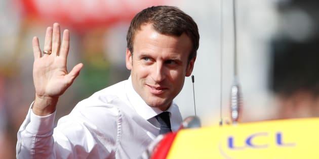 Tour de France 2017, étape 17: la visite d'Emmanuel Macron sur le Tour