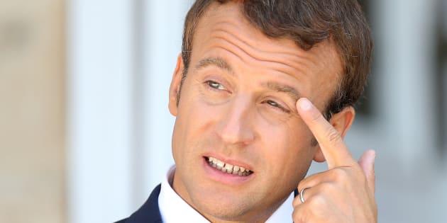 """Emmanuel Macron a accordé une longue interview dans """"Le Point"""""""