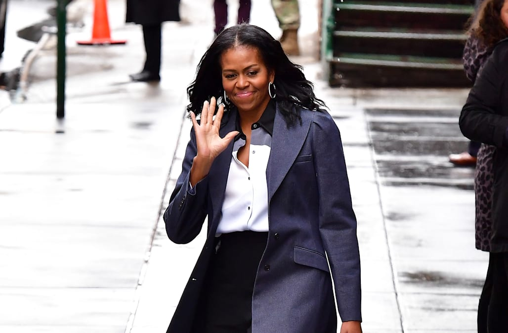 Michelle obama natural hair — photo 11