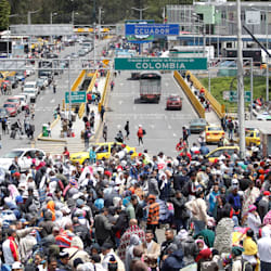 Ecuador contabiliza más de medio millón de venezolanos circulando por su