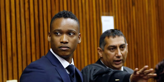 Duduzane Zuma attends the Randburg Magistrates' Court on culpable homicide charges related to a fatal car crash in 2014. July 12 2018.