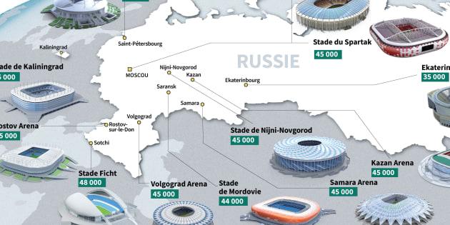 Coupe du Monde 2018: Kazan, Ekaterinbourg... ces villes russes que vous allez découvrir avec le Mondial