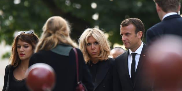 Aux obsèques de Jean-Claude Boulard, le couple Macron et plusieurs centaines de personnes