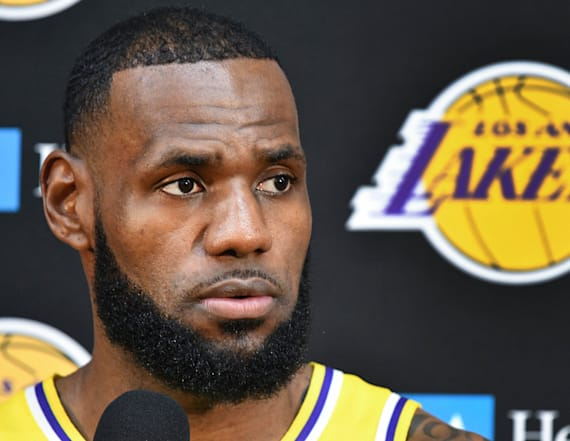 LeBron James has perfect response to question