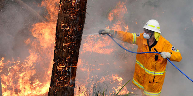 NSW firefighters are gearing up for another difficult day in the field battling bushfires.