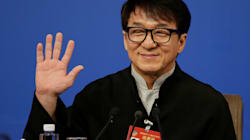 Jackie Chan dans un clip de propagande du régime
