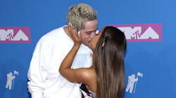 Ariana Grande And Pete Davidson Are 'Red-Carpet Official' At The