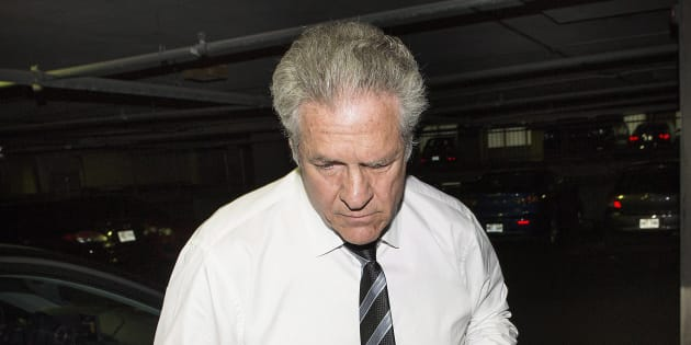 Tony Accurso à son arrivée au palais de justice, jeudi.