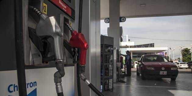 Gasolinera Chevron en la ciudad de Culiacán