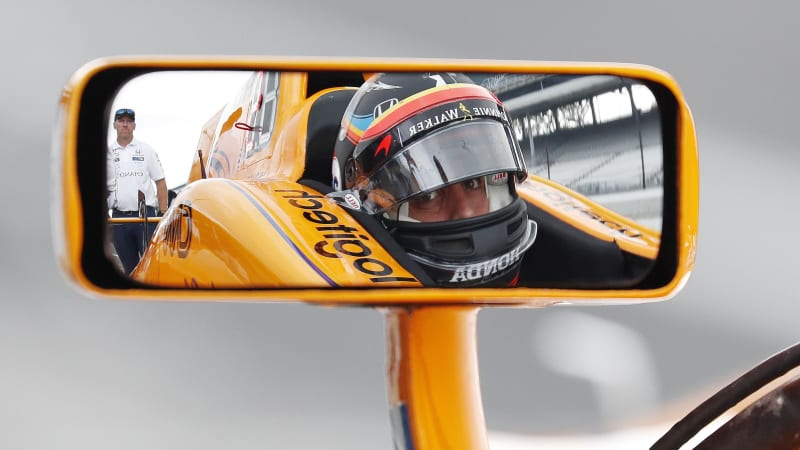 Alonso qualifies seventh-fastest as Carpenter leads at Indy