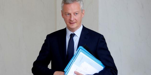 Bruno Le Maire à l'Élysée le 28 juin.