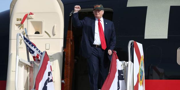 """""""Arrêtez la commande!"""": Donald Trump - ici le 25 octobre - s'en prend à Boeing sur Twitter"""
