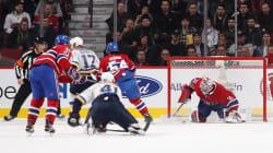 Cinq moments marquants du match entre le Canadien et les Blues de St.