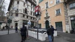 Chiuse tre fermate metro nel centro di Roma a due settimane da