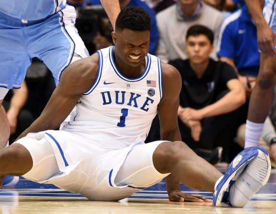 LeBron, NBA stars react to Zion Williamson injury