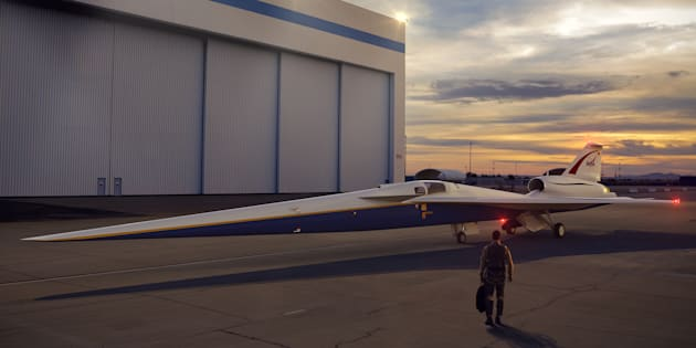 "La Nasa va tester un avion supersonique ""silencieux"""
