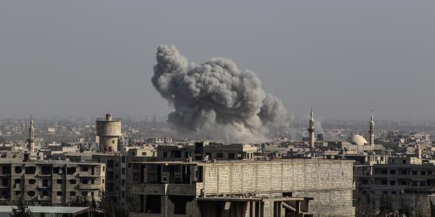 Dans la Ghouta orientale en Syrie, 18 cas de suffocation rapportés, l'utilisation d'armes chimiques évoquée