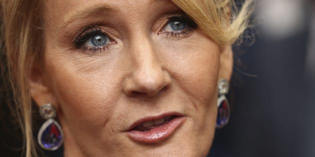 J.K. Rowling le 30 juillet 2016 à Londres.