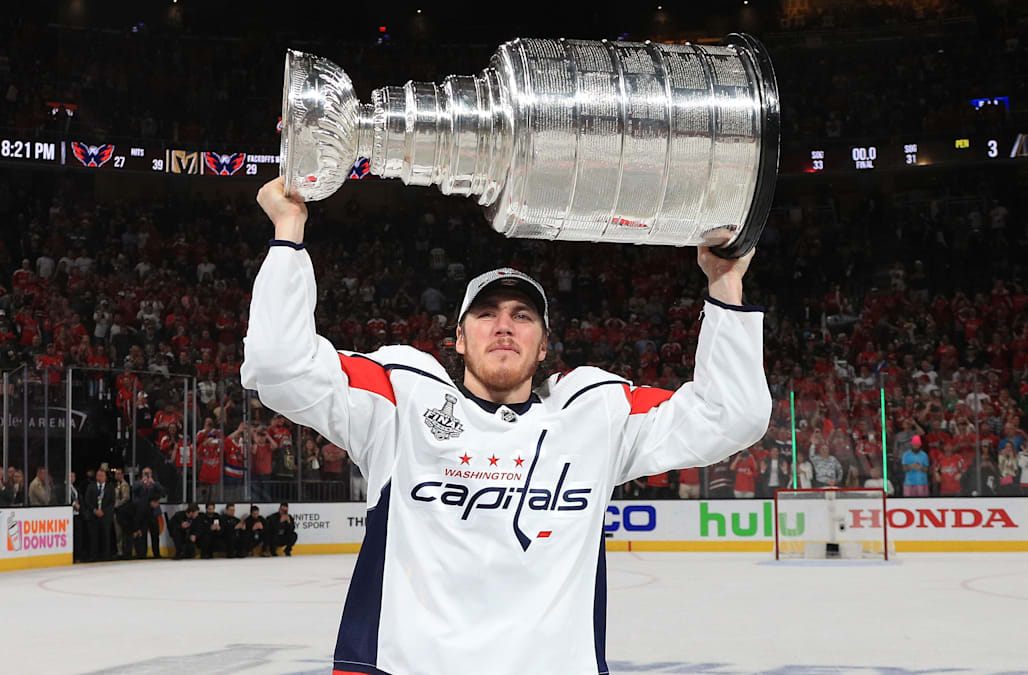 81c24a941e2 T.J. Oshie offers emotional quote about his father with Alzheimer s after Stanley  Cup win