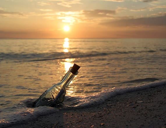 Message in a bottle discovered after 36 years